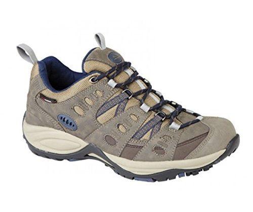 Johnscliffe Kathmandu vegan Walking Shoes Brown Navy