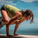 crow pose arm balance