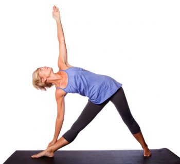 Utthita Trikonasana- Extended Triangle pose